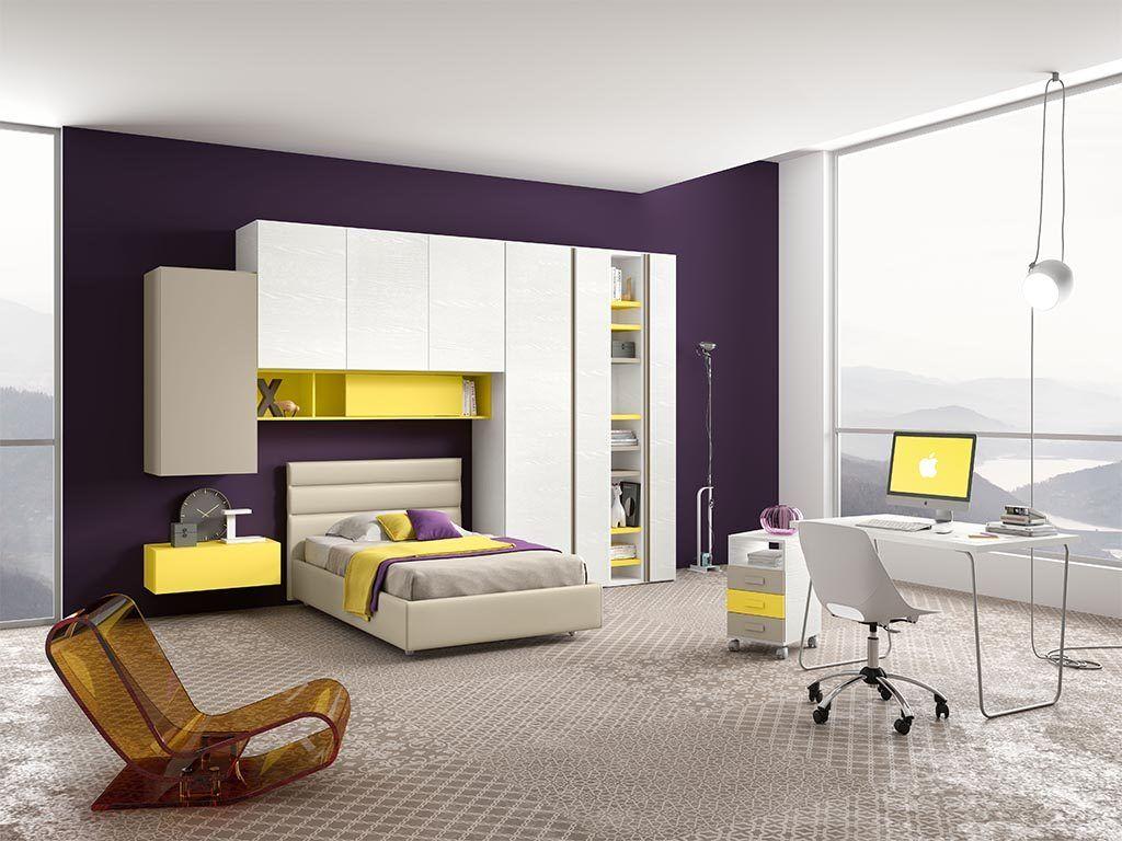 Camerette Nardi ~ Cameretta moderna design componibile su misura per bambini e