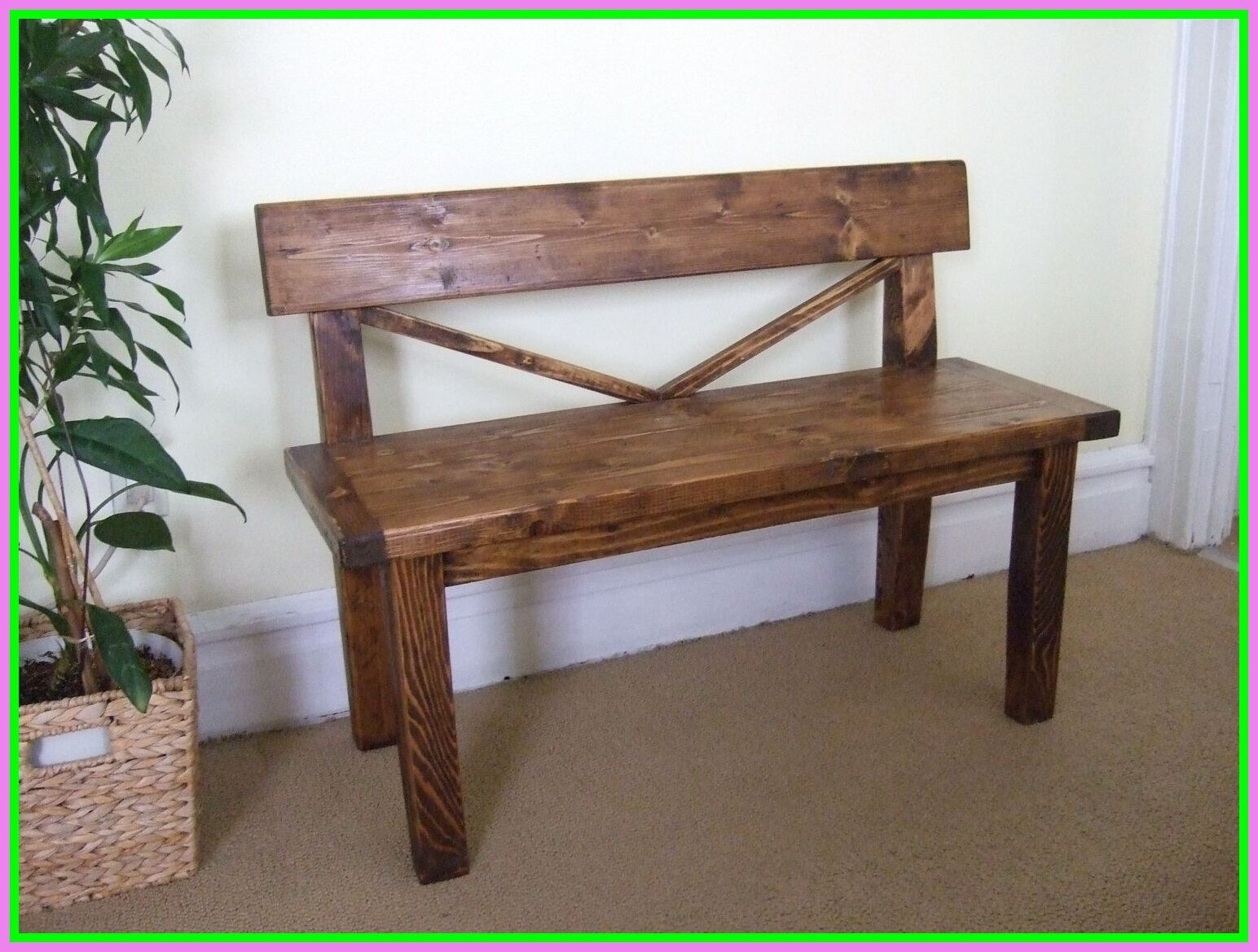 easy diy dining table bench