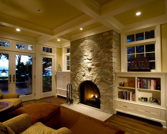 Tv Over Mantel Design, Pictures, Remodel, Decor and Ideas - page 27