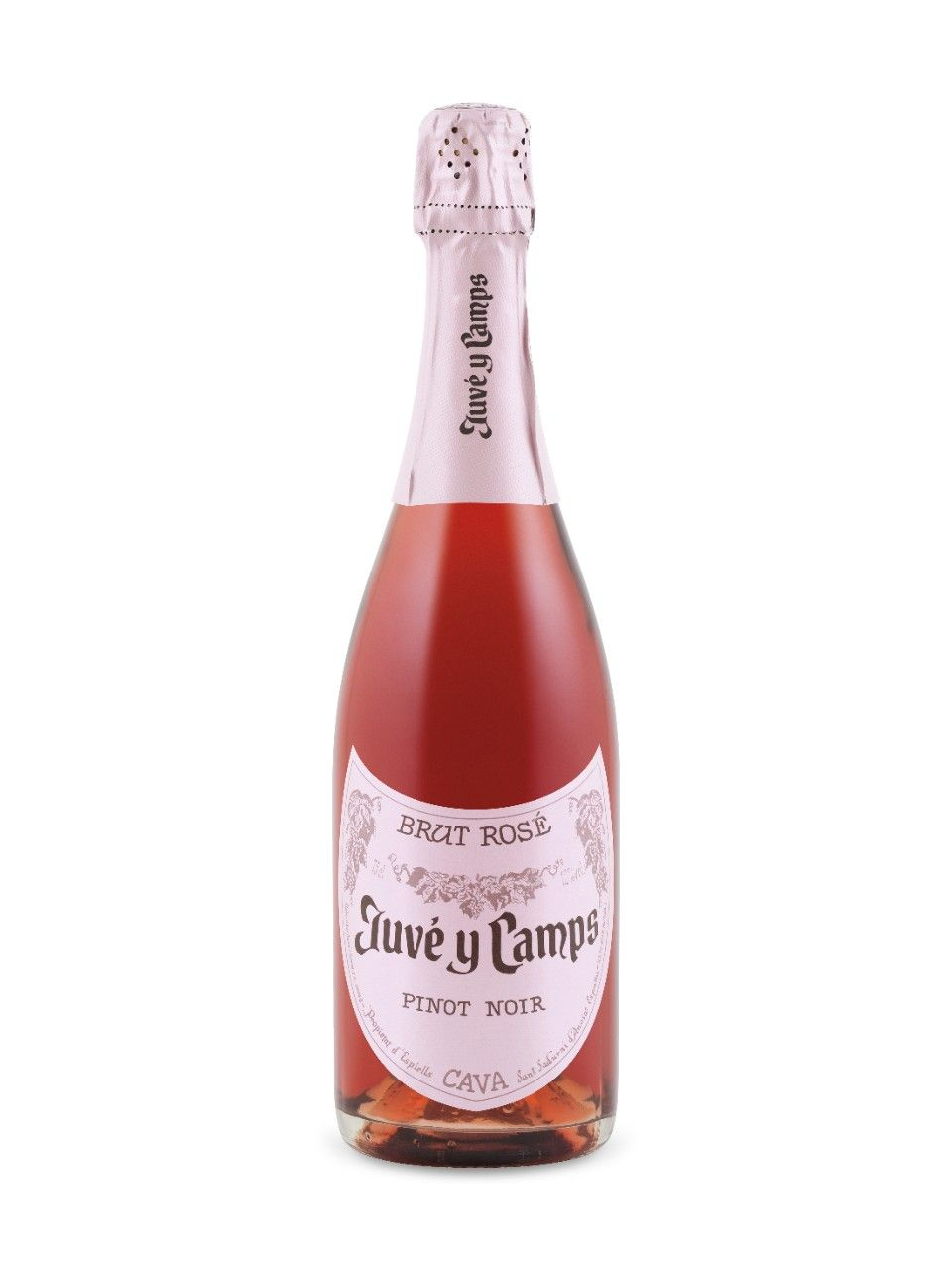 Juve Y Camps Reserva Brut Pinot Noir Rose Cava D O Spain Natalie S Score 89 100 Www Nataliemaclean Com Wine Reviews Juve Y Ca Wine Bottle Pinot Pinot Noir
