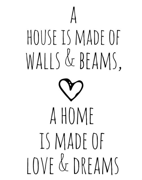 Happy Home Quotes, Home Quotes