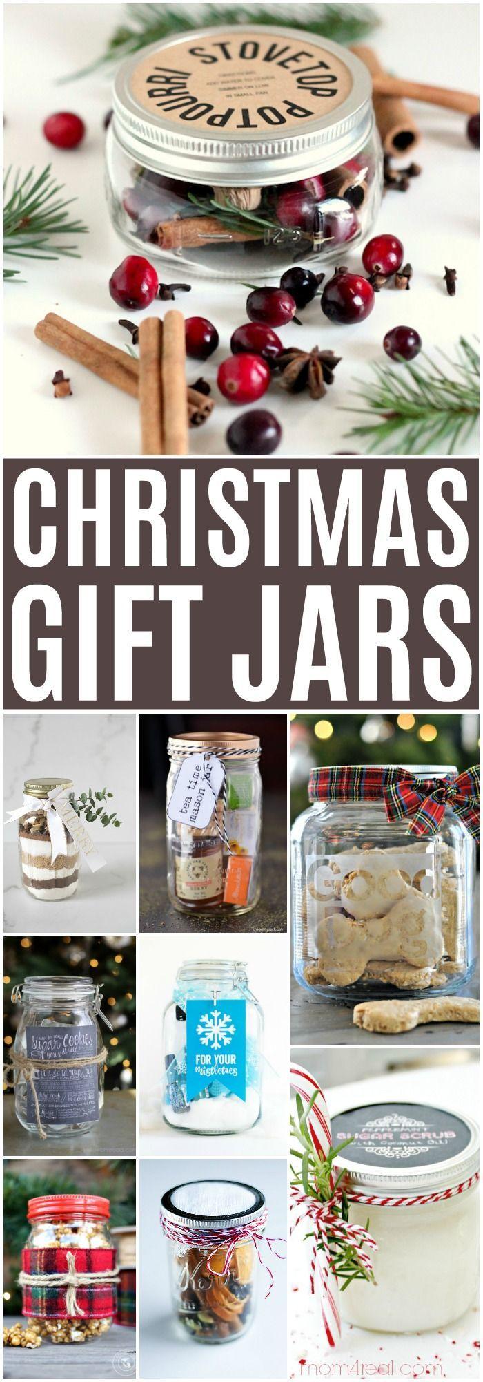 20 Creative + Affordable DIY Holiday Gift Jars | DIY Blog - Group ...