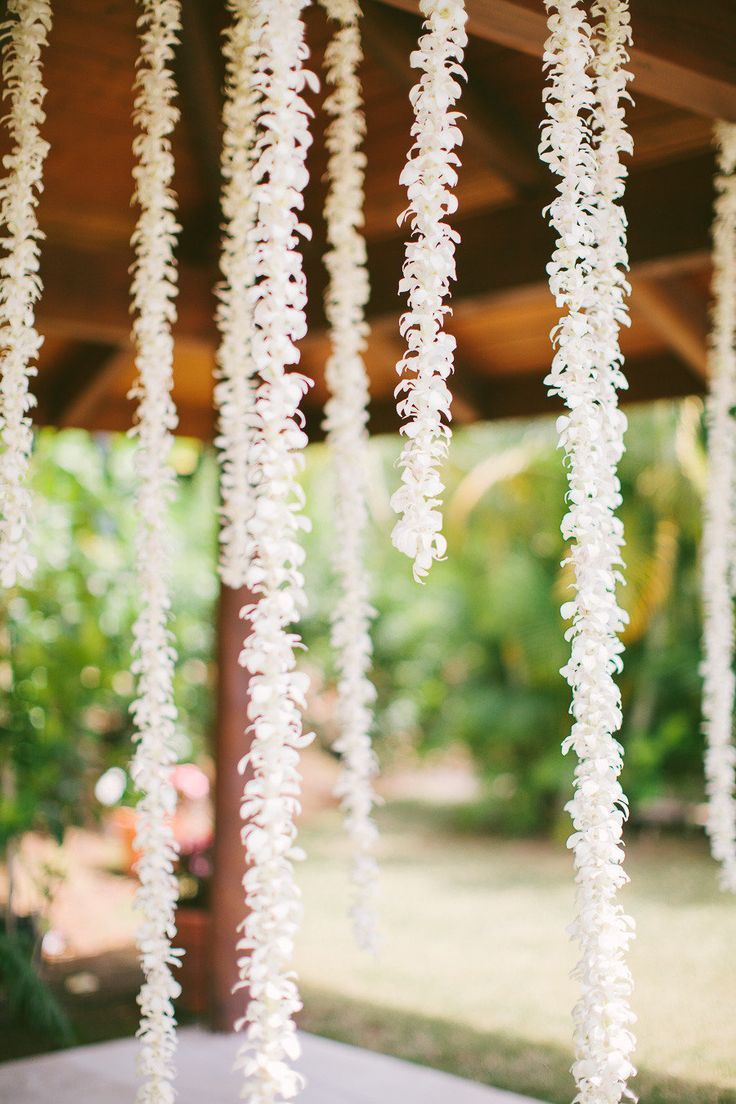Greenery and Floral Garland Wedding Decoration Floating flower