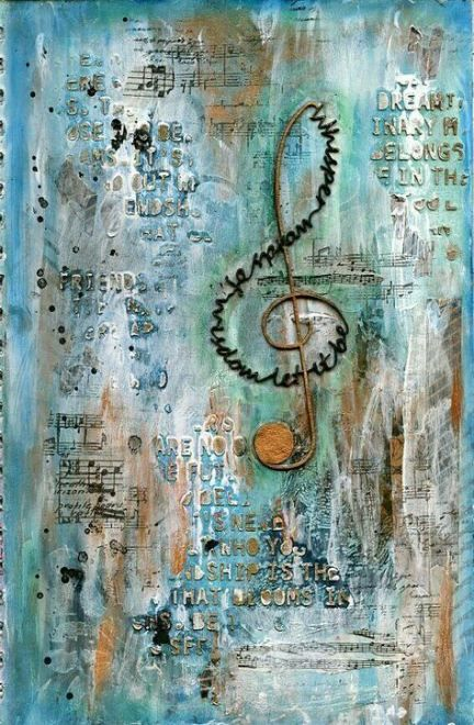 Music Note Artwork Canvases 19 Ideas #musicnotes