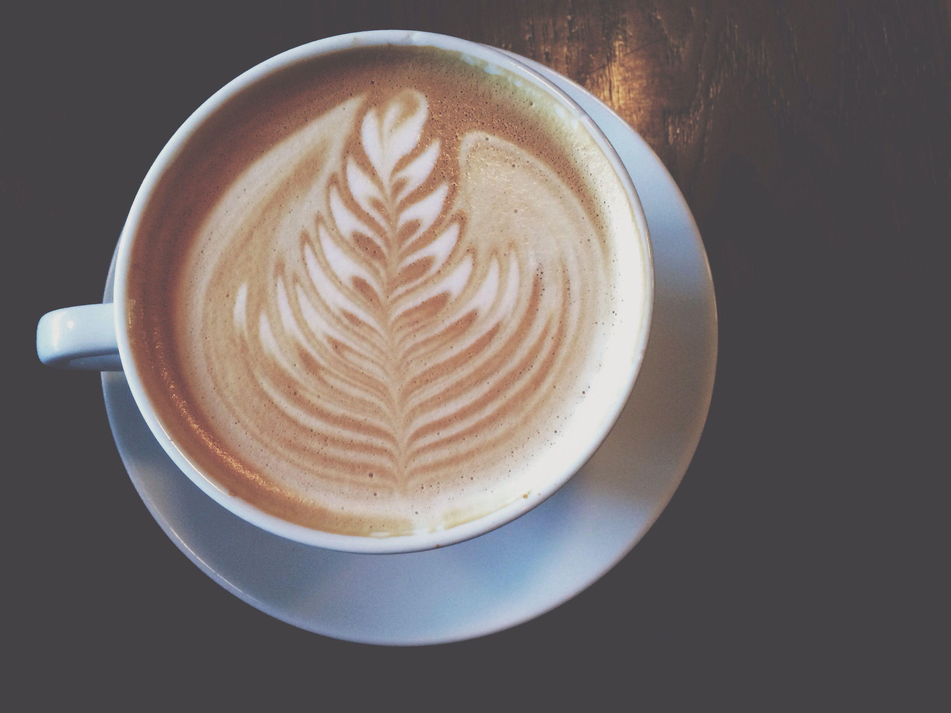 Lavender latte from spyhouse, yum yum.