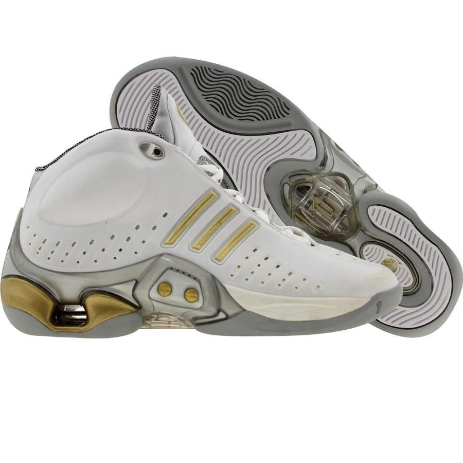 quality design 1df33 7e108 ... men shoes  adidas 1.1 b (white gold silver) shoes 466869 pickyourshoes