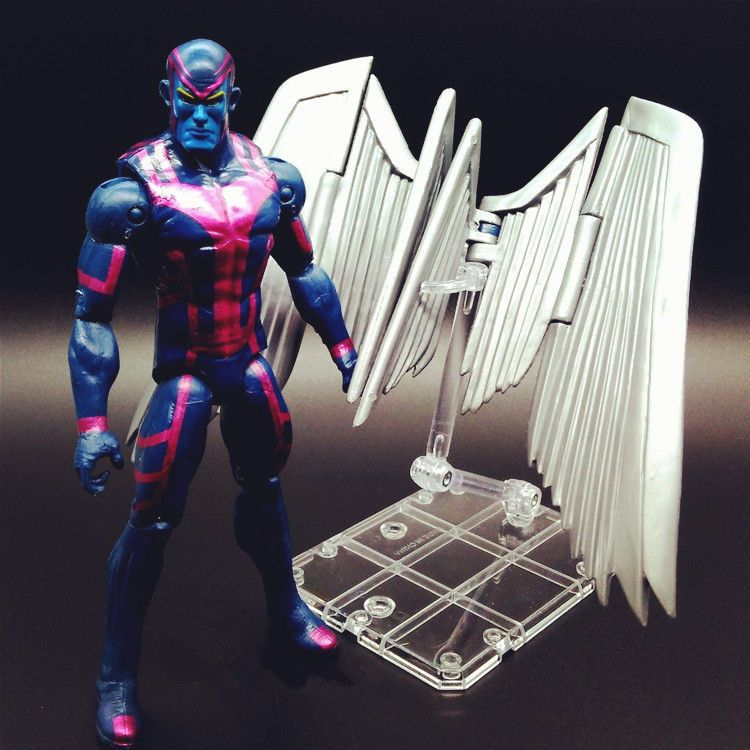 Marvel Legends Hit-Monkey BAF X-Men Archangel Action Figure Horseman X-Factor #Universal