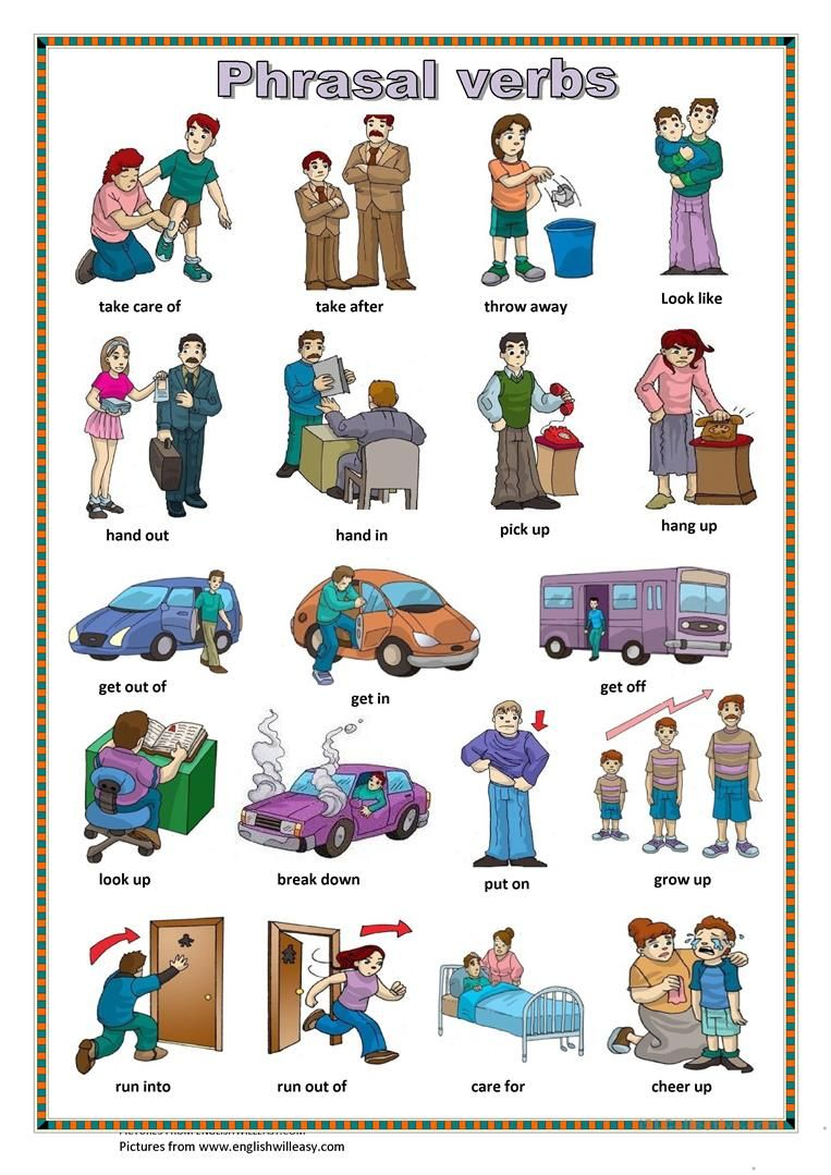 Phrasal Verbs 1 Worksheet Free Esl Printable Worksheets Made By Teachers English Idioms English Language Teaching Learn English Vocabulary [ 1079 x 763 Pixel ]