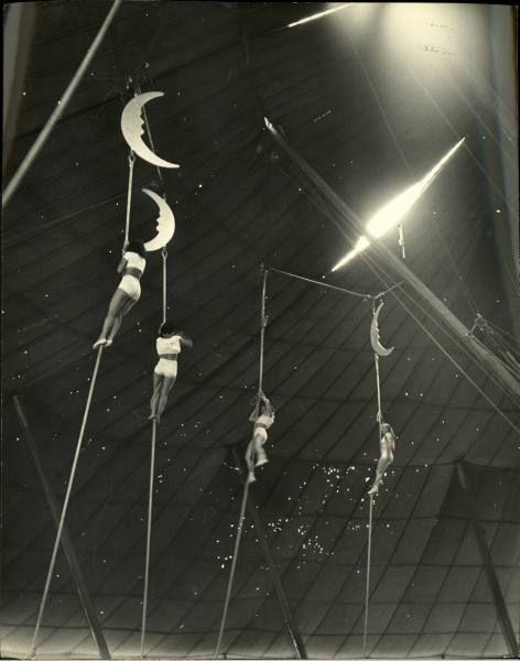 Circus In Sarasota - Nina Leen 1949