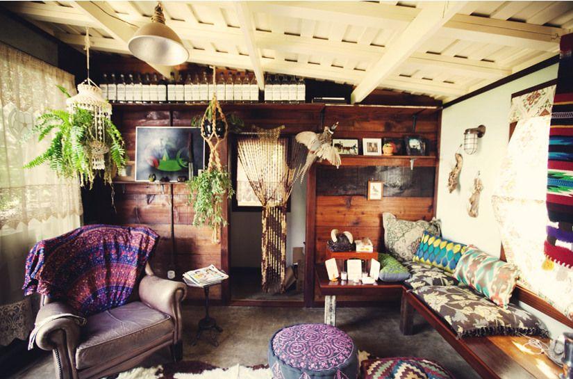 Chic Bohemian Interieur : Gypsy yaya surf shack chic dwelling surf shack