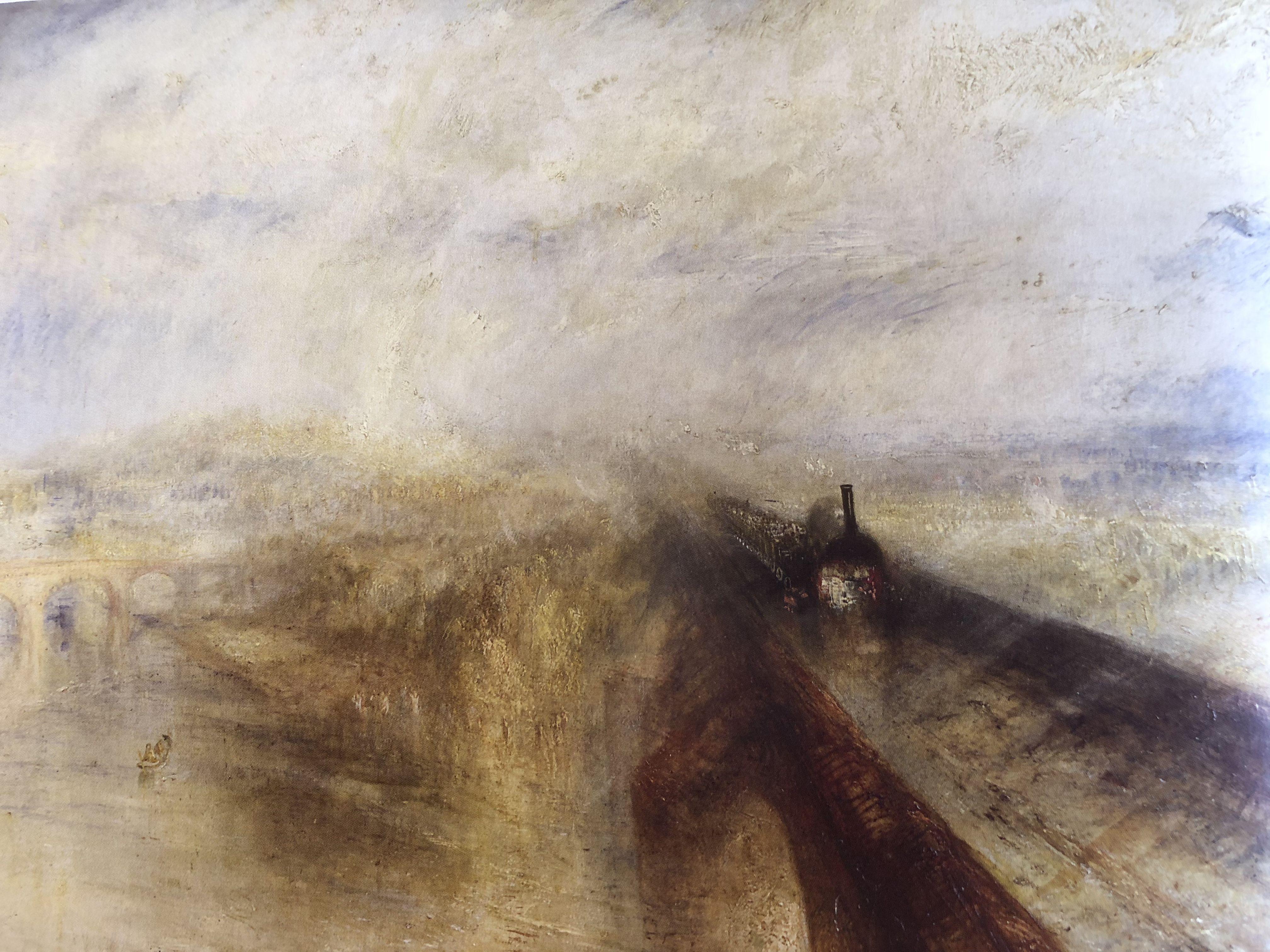 GREAT WESTERN RAILWAY POSTER Joseph M Turner NEW W