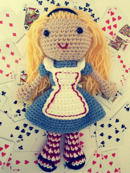 Such a sweet Crocheted Doll #pinterest #alıntı #crochet ... | 732x550