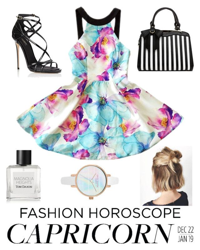 """Senza titolo #371"" by kirsten-weigh on Polyvore featuring moda, Dolce&Gabbana, Tom Daxon, fashionhoroscope e stylehoroscope"