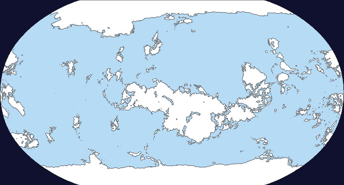 Terraformed Venus Cartography Fantasy world map Map