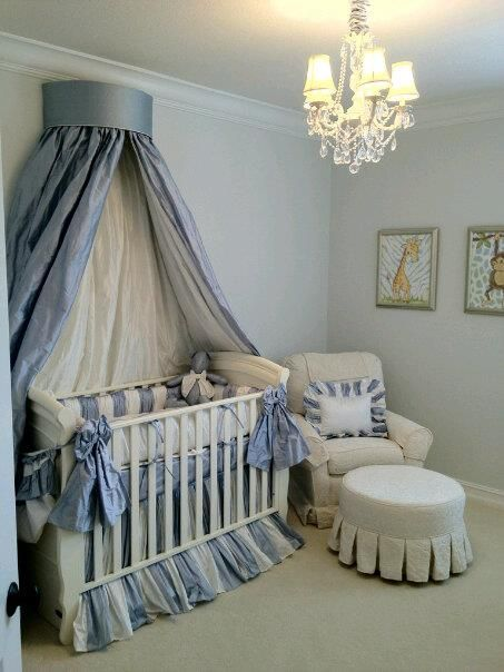 Fit For A Prince Vanessa Crib With Little Castle Glider Baby