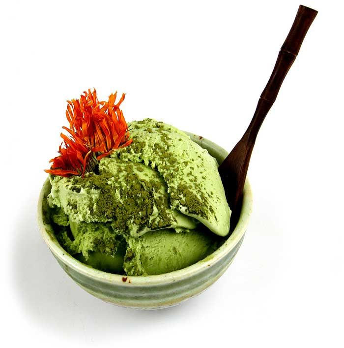Green Tea Ice Cream ~ Easy Recipe!