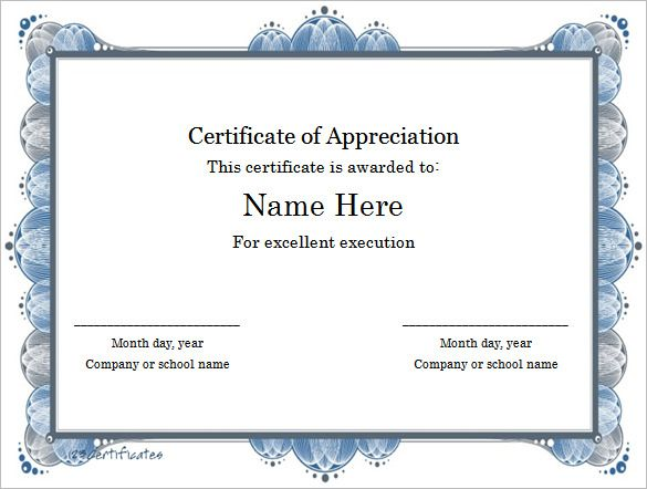 Excellent-Execution-Certificate-Template-Word-Format , Finding - Award Certificate Template Word