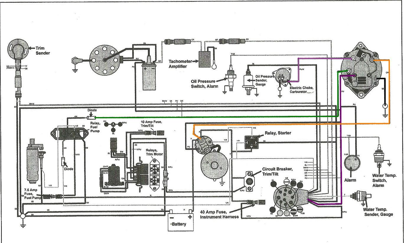 medium resolution of volvo penta wiring harness diagram use wiring diagram volvo penta exploded view likewise volvo penta trim pump diagram on