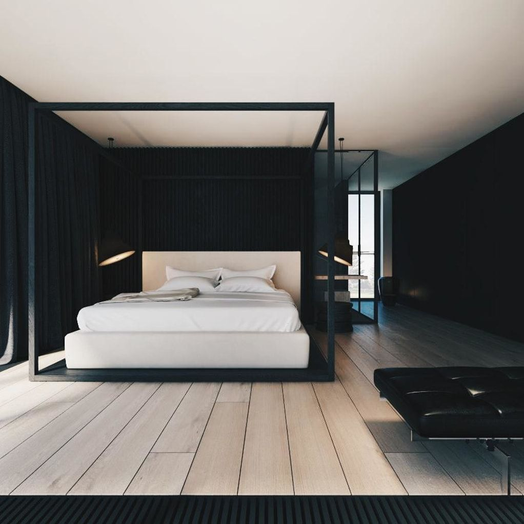 100 Perfectly Minimal Stylish Bedrooms For Your Inspiration