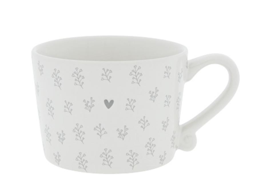 Photo of Small Mug Collection – Little Petal Grey Heart