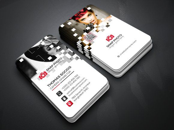 Corporate business card by creative idea on graphicsauthor corporate business card templates features of business card template paper size with bleeds 04 color versions 300 by create art reheart Image collections