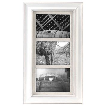 Malden 3 Opening 5 X 7 Picture Frame White Picture Frames Picture Frame Colors Frames On Wall