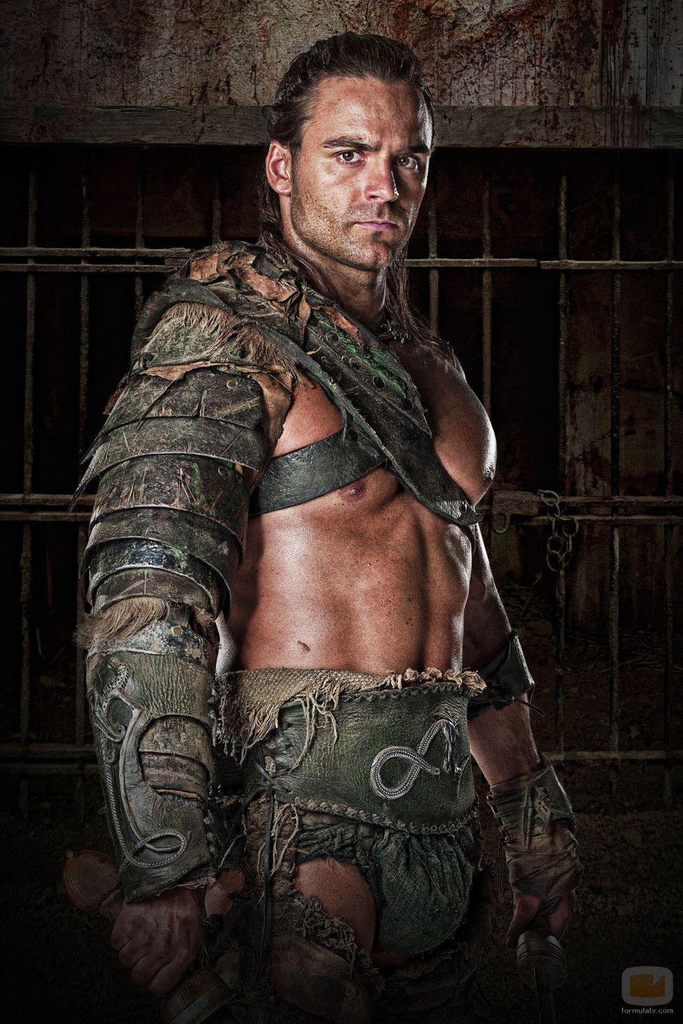 Dustin Clare es Gannicus en 'Spartacus: Dioses de la arena ...