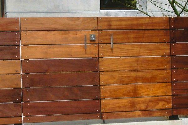 Horizontal 2x6 Double Gate Mahogony Backyard Gates