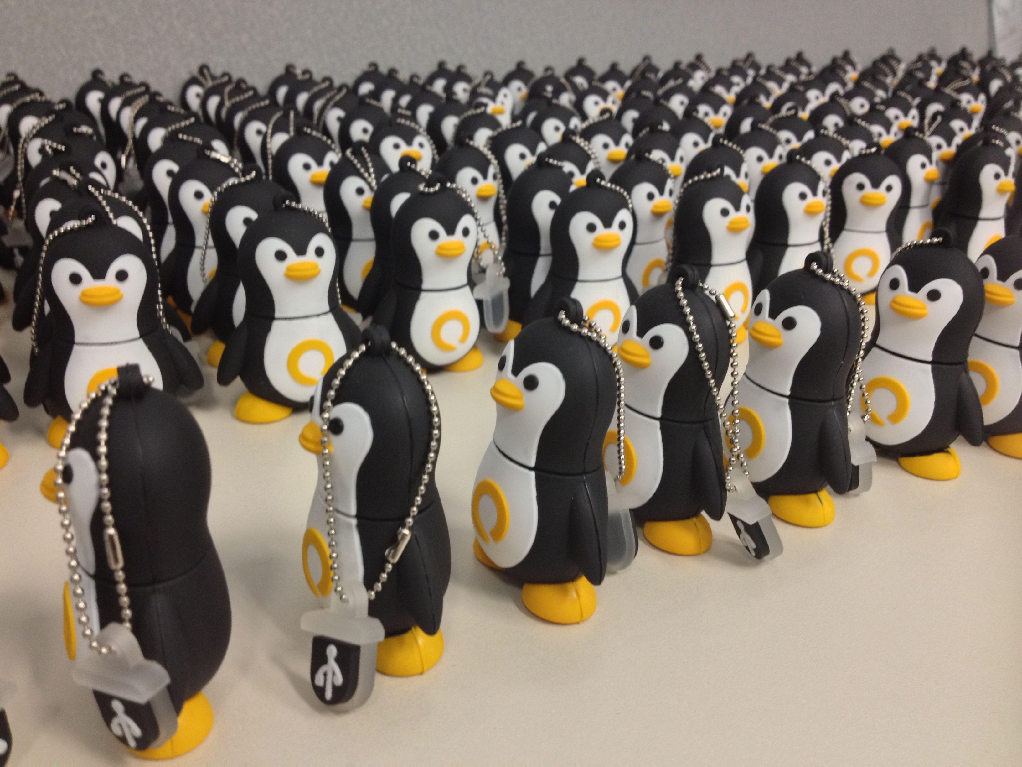 Quark's new Penguin USB Key! Available aboard our Polar ...