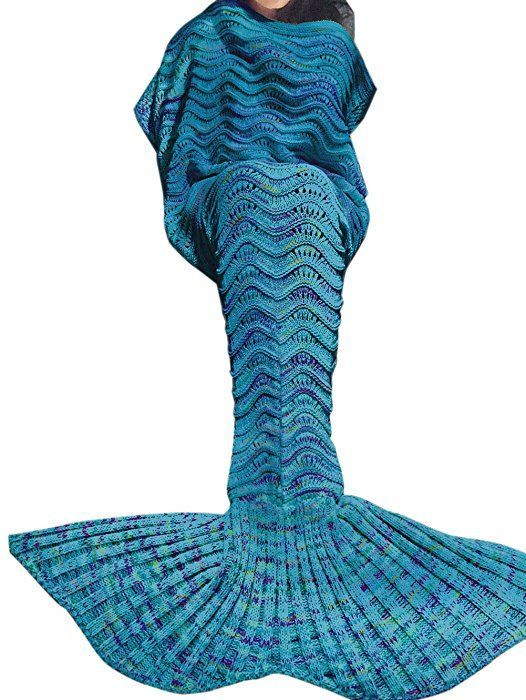 Meerjungfrauendecke Anleitung Tiaobug Meerjungfrau Schwanz Flosse