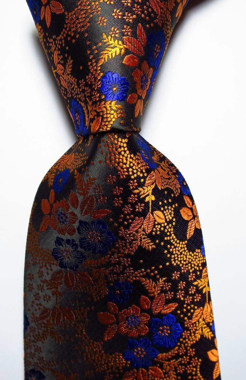 Tie Silk 100/% New Necktie Wedding Floral Paisley JACQUARD WOVEN Fashion Men/'s