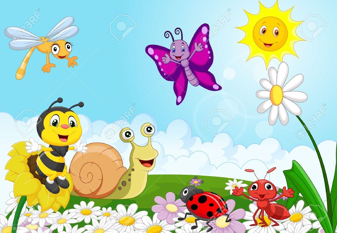 33366867 Cartoon Small Animals Stock Photo Jpg 1300 900 Small Pets Spring Cartoon Clip Art Frames Borders