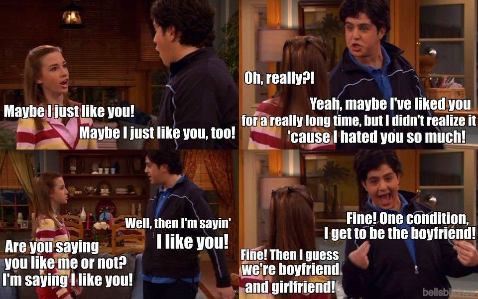 Drake And Josh! This Was So Cute!