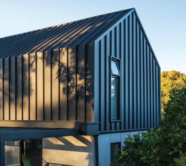 Colorbond Matt Standing Seam Sheets Metal Building Homes Metal Buildings House Cladding