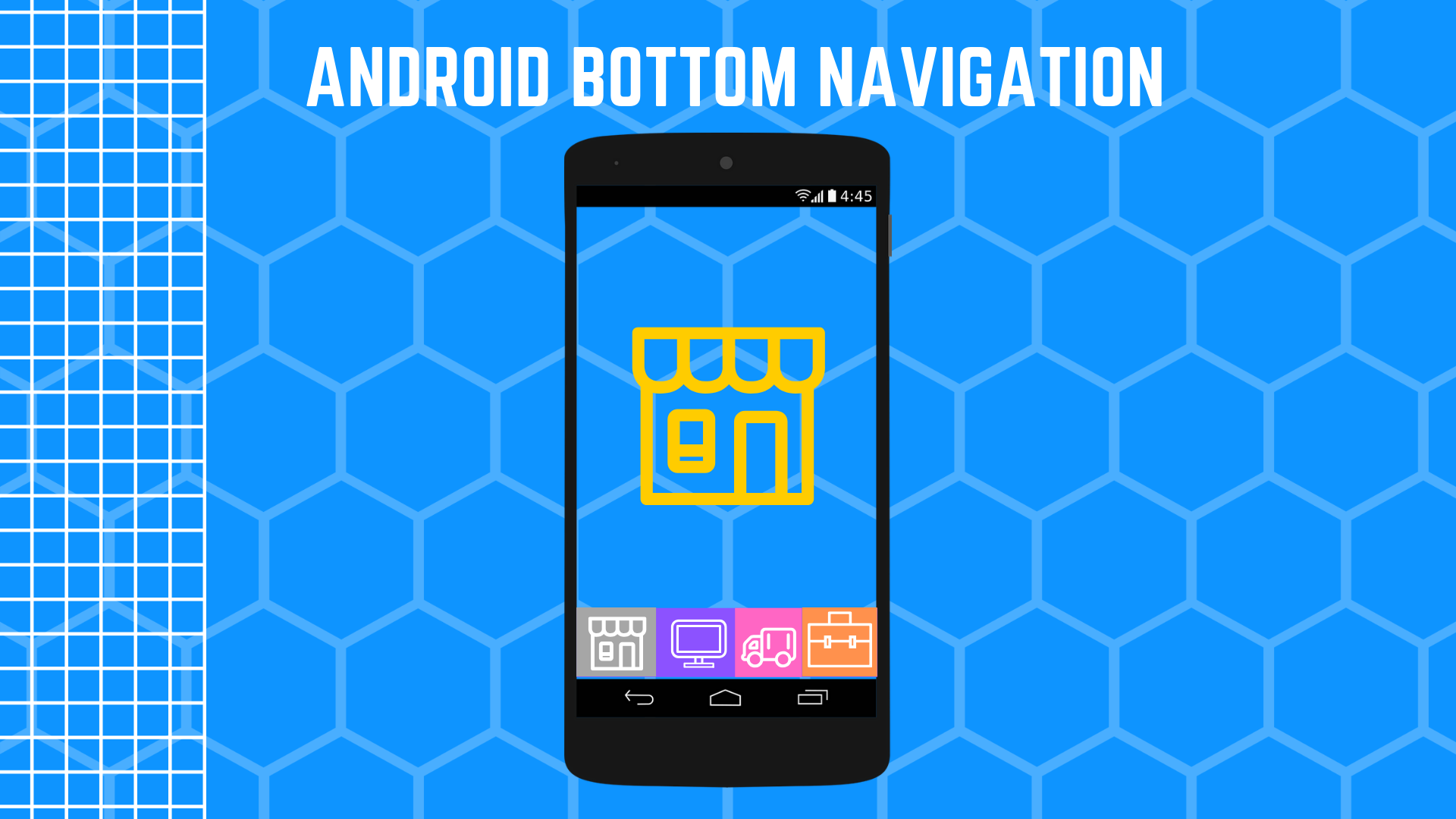 Meow Bottom Navigation A simple & curved & material navigation