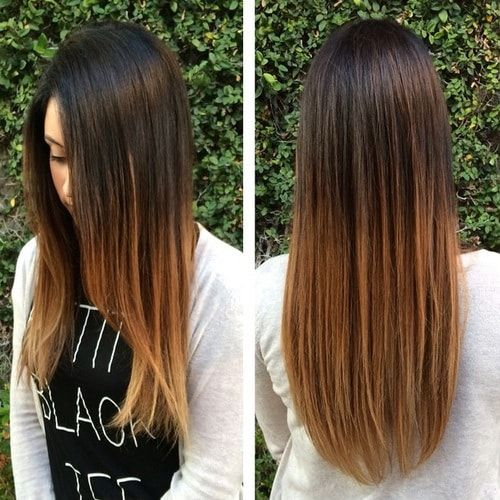 15 Stylish Ombre Straight Hair Best Ombre Straight Hair For Women