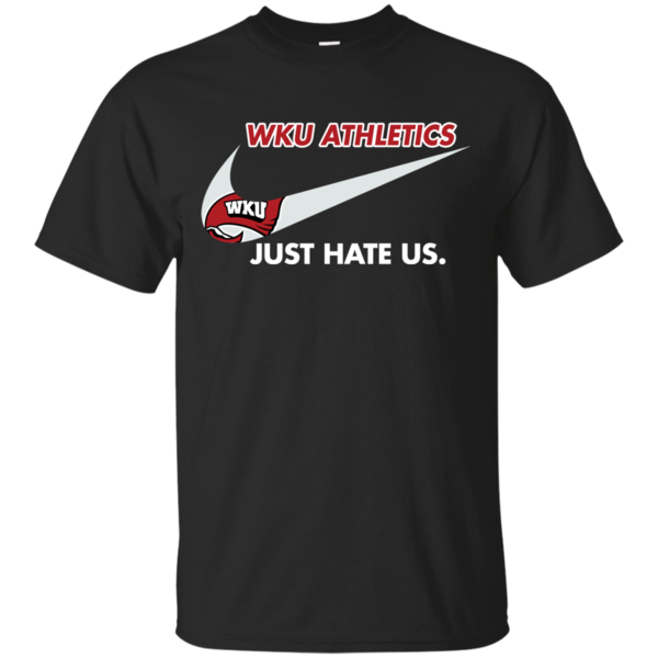 WKU Athletics T shirts Just Hate Us Hoodies Sweatshirts