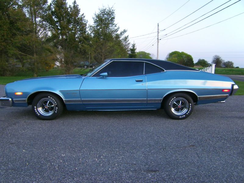 1973 Ford Gran Torino Sport This Is Exactly Like My First Baby I