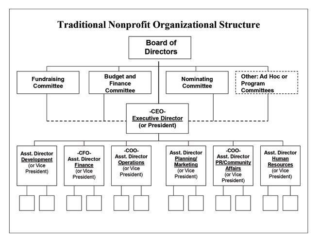Nonprofit Structure Nonprofit Organizational Structure Organizational Chart Organizational Structure Organization Chart