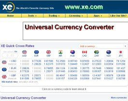 Universal Currency Converter Http Www