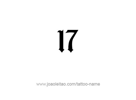 Imagenes Del Numero 17 Para Colorear Busqueda De Google Tatuaje Griego Nuevos Tatuajes Hombres Tatuajes