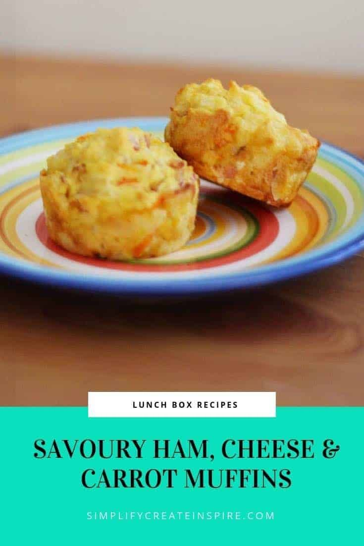 Savoury Ham Carrot & Cheese Muffins Recipe  The best carrot muffin recipe! These Savoury Ham Carrot & Cheese Muffins Recipe are perfect for lun #Carrot #Cheese #Ham #Muffins #Recipe #Savoury