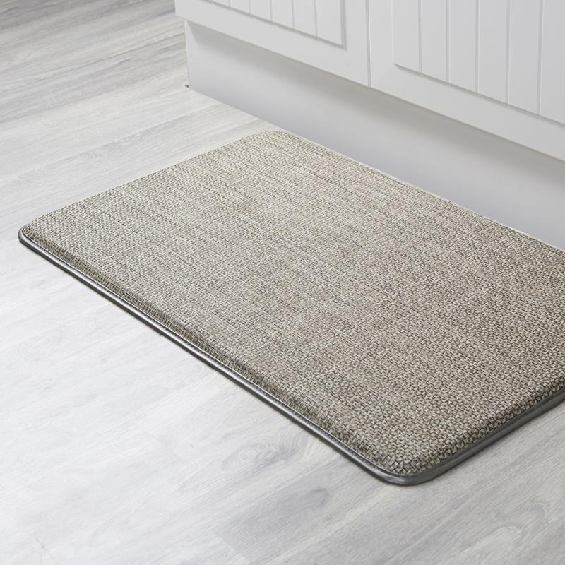 Ksp Textaline Anti-Fatigue Memory Foam Mat 46 X 76 Cm Brown ...