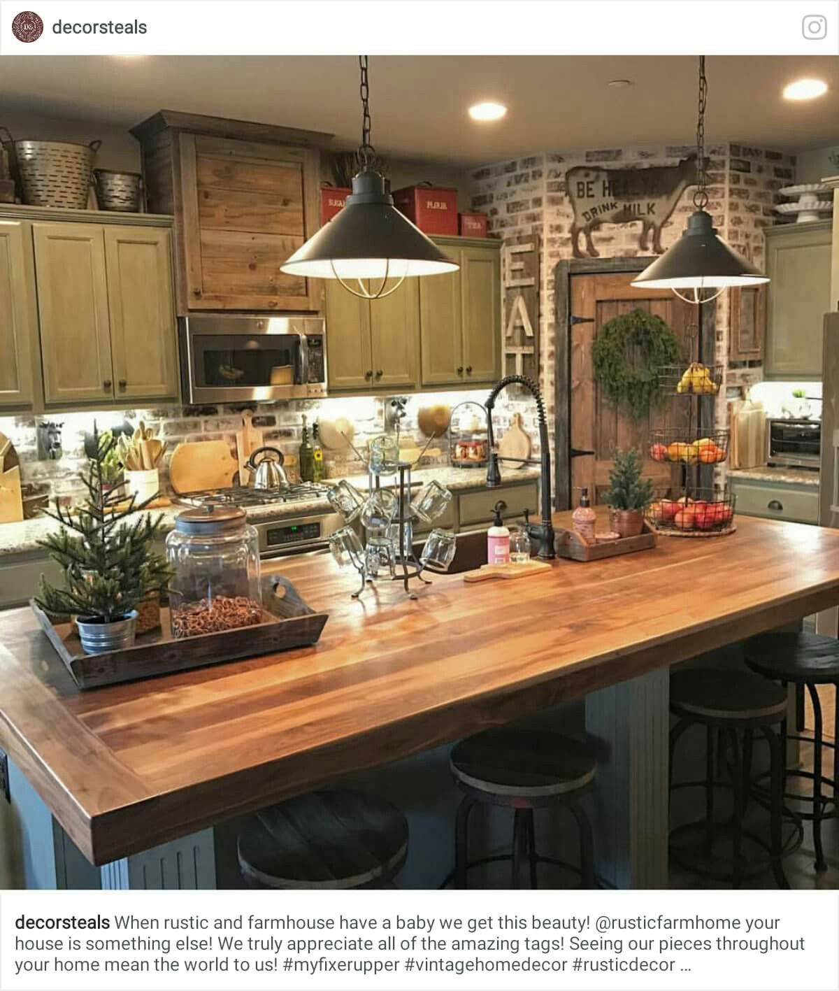 Pin by Yonnie Smith on Stylish Kitchens The Farmhouse