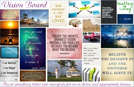 Click for a free vision action board powerpoint template for Vision board templates free