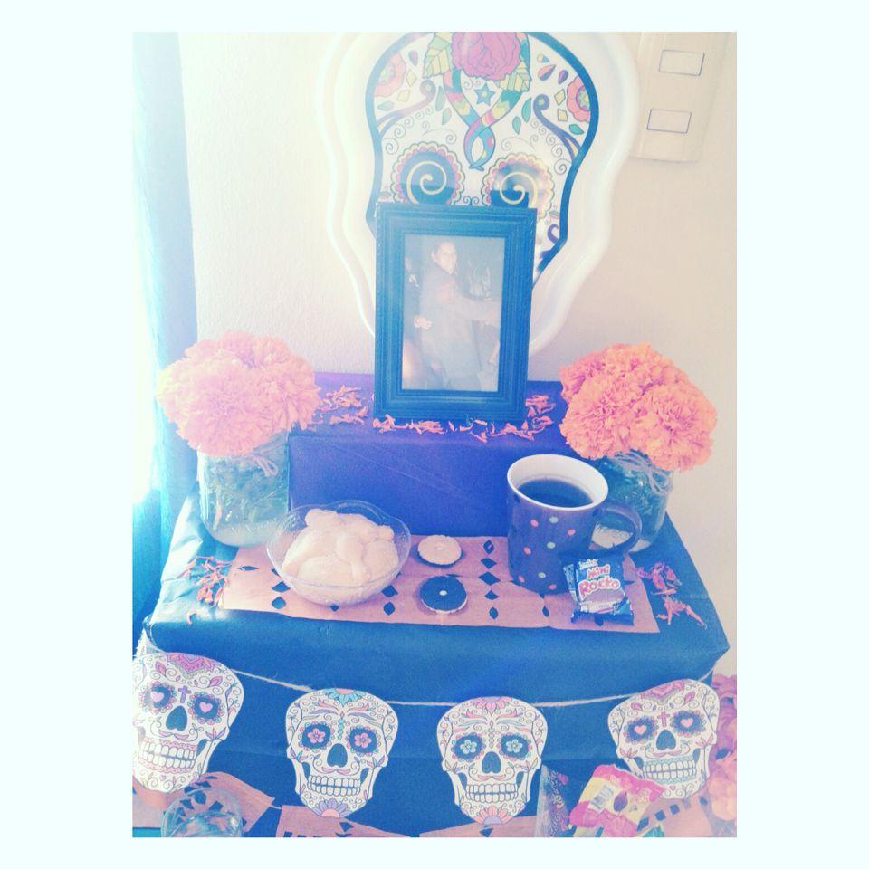 Altar de muertos! #DiaDeMuertos #TradicionMexicana