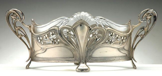art nouveau silver - Google Search