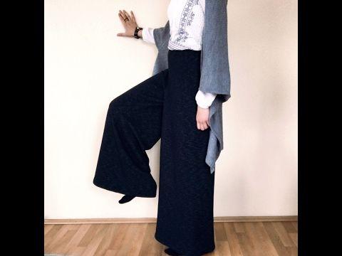 Bayram Icin Kolay Tunik Dikimi Yenibaslayanlaricin Diy Easy Top Tunic For Eid Youtube Ust Giyim Genis Pantolon Pantolon
