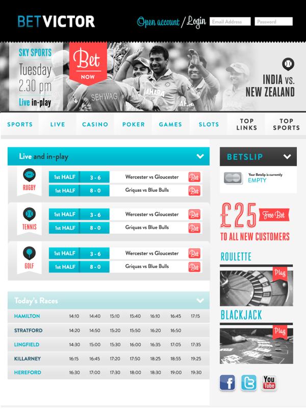Betvictor By Leonor Graca Moura Via Behance Web Design Inspiration Web Design Casino Poker