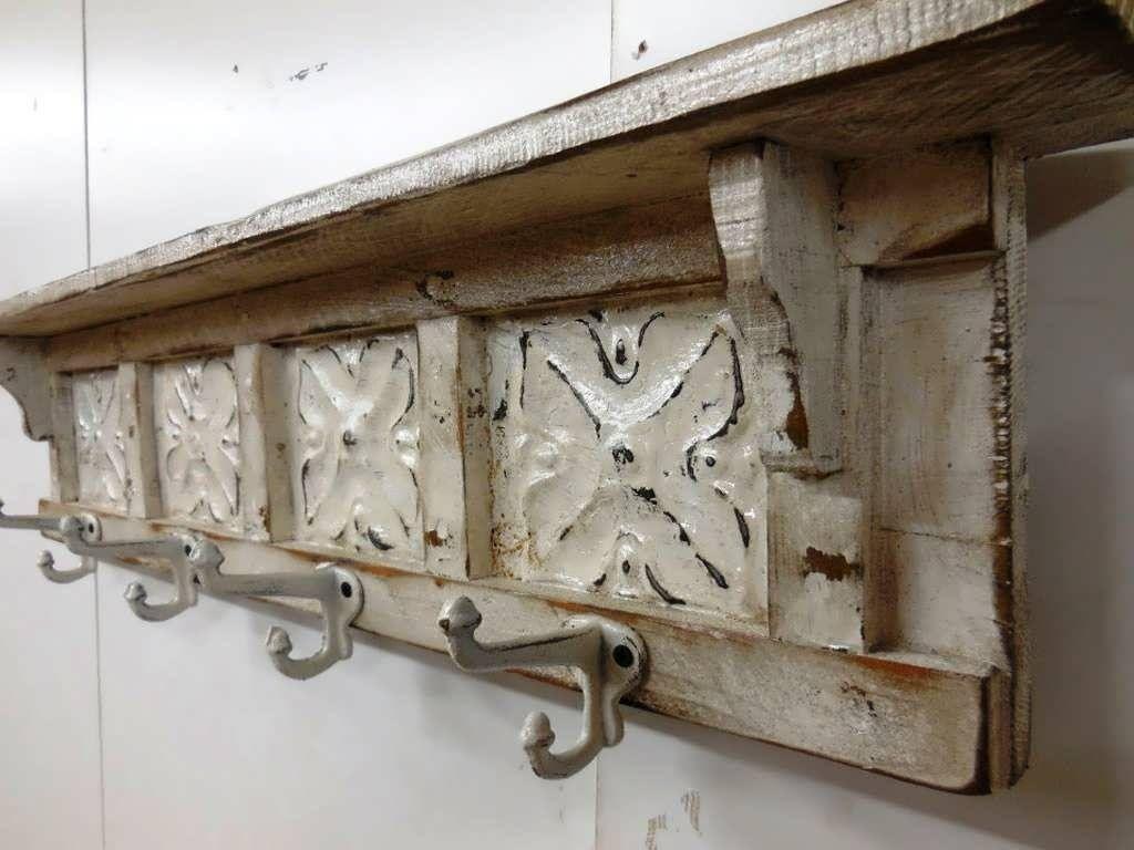 furniture rustic coat rack wall